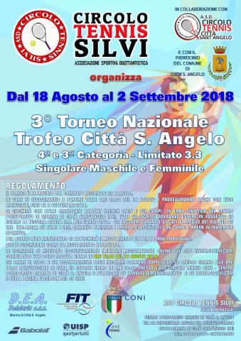 3 Torneo Nazionale Di Tennis Trofeo Citta Santangelo 2018 Di 4